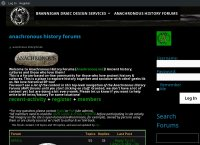 Anachronous History FOrums