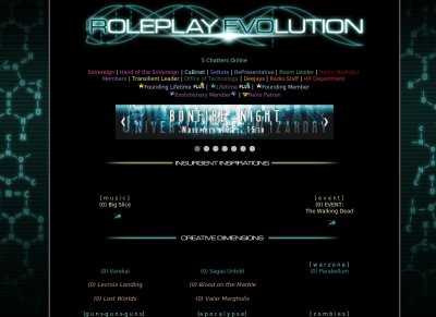 Online roleplay sites